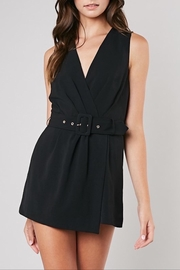 Apricot Lane Belted Romper - Product Mini Image