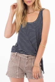 Apricot Lane Betty Striped Tank - Product Mini Image