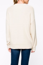 Apricot Lane Braided Front Sweater - Side cropped
