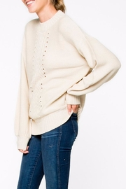 Apricot Lane Braided Front Sweater - Front full body