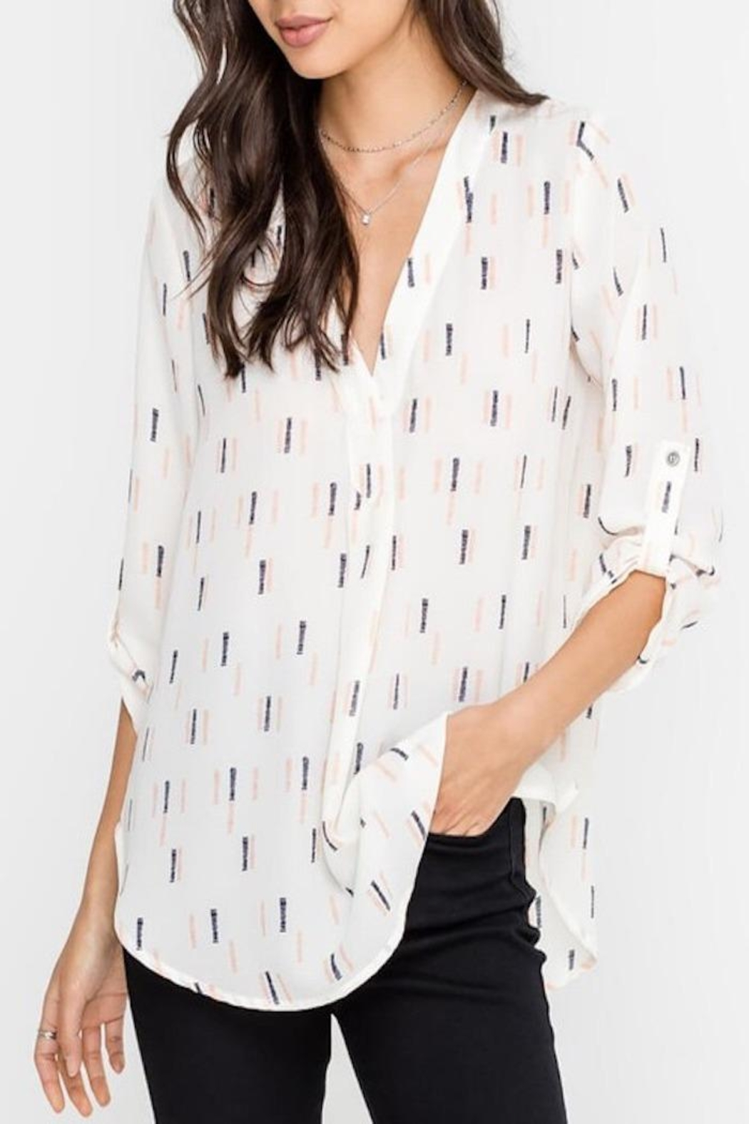 Apricot Lane Business Casual Top - Main Image