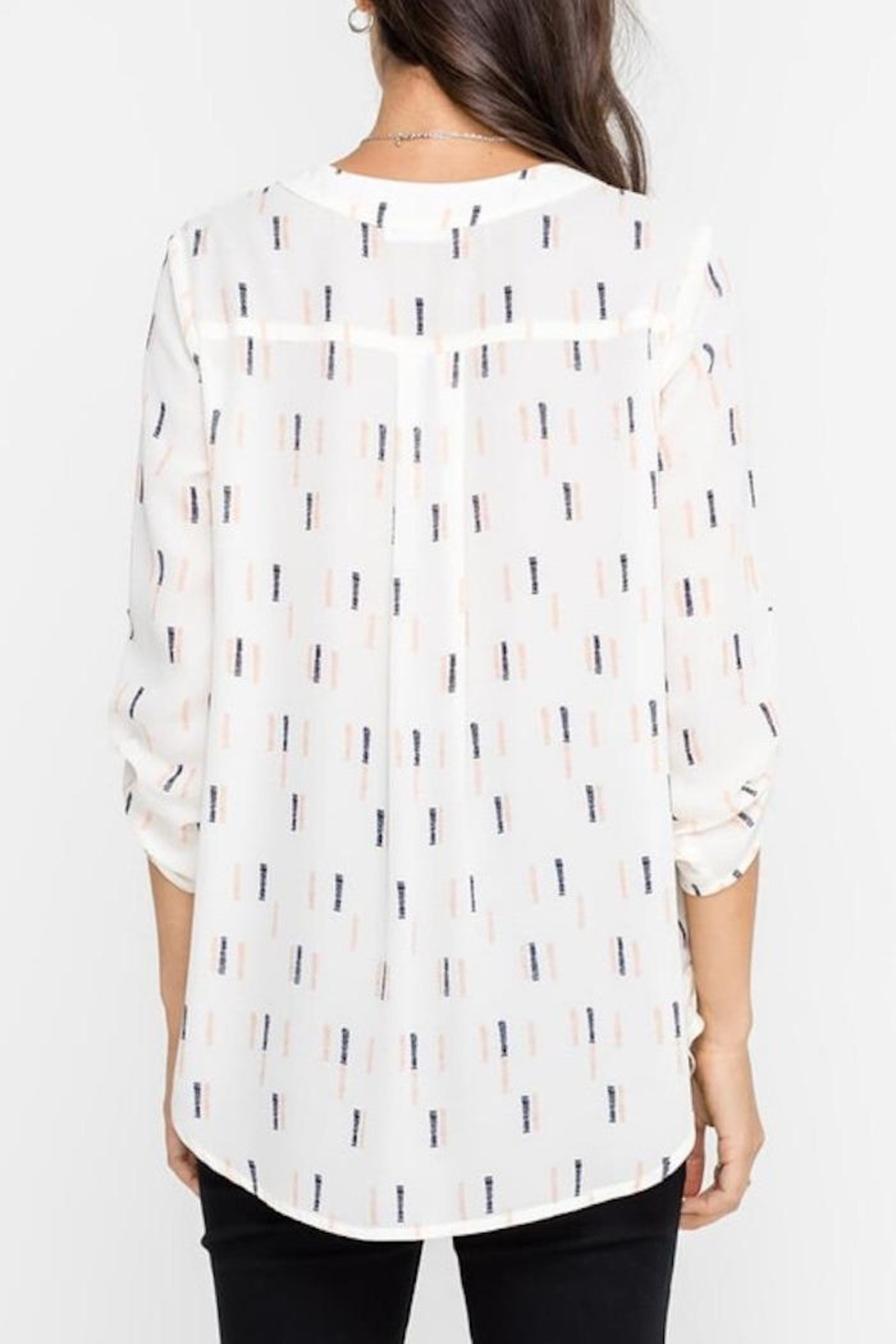 Apricot Lane Business Casual Top - Side Cropped Image