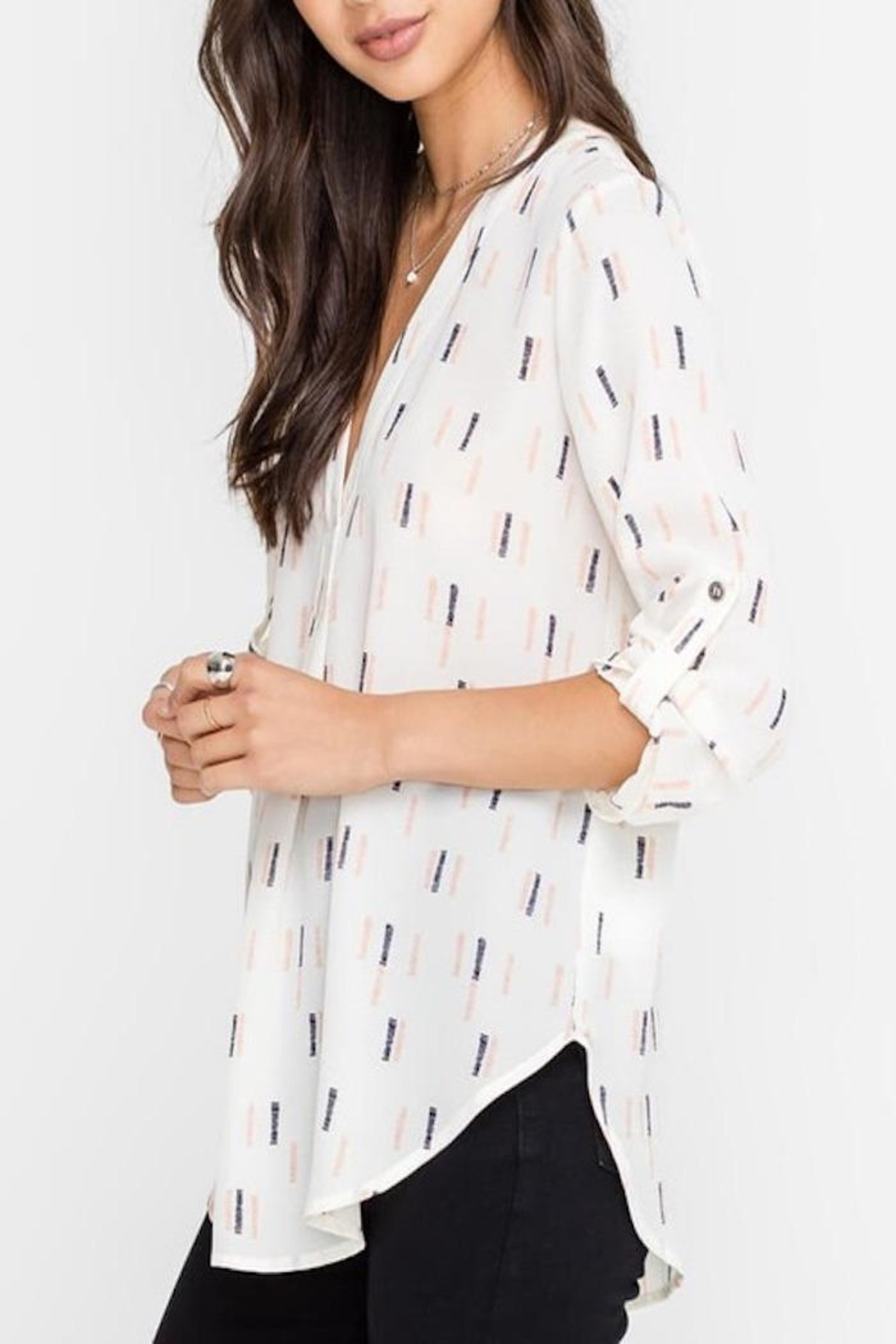 Apricot Lane Business Casual Top - Front Full Image