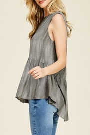 Apricot Lane Buttoned Up Top - Front full body