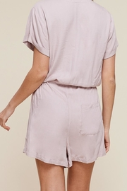 Apricot Lane Cap Sleeve Romper - Side cropped