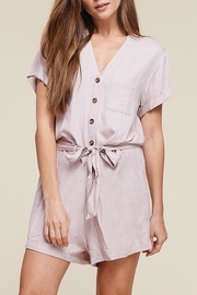 Apricot Lane Cap Sleeve Romper - Product Mini Image