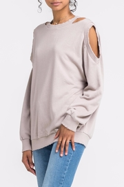 Apricot Lane Cold Front Sweater - Front full body