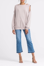 Apricot Lane Cold Front Sweater - Front cropped