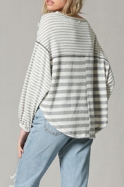 Apricot Lane Contrast Top - Side cropped