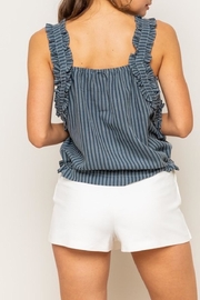 Apricot Lane Crinkle Crop - Front full body