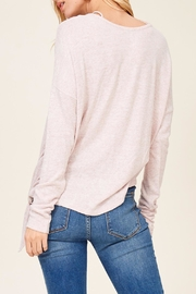 Apricot Lane Cross Over Sweater - Side cropped