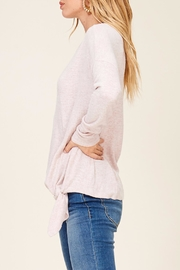 Apricot Lane Cross Over Sweater - Front full body