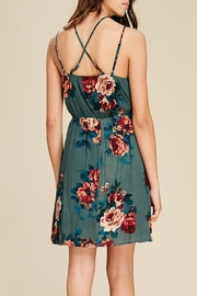 Apricot Lane Crossing Over Dress - Side cropped