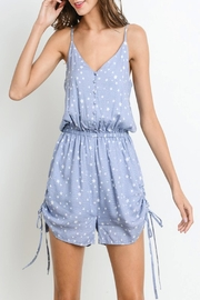 Apricot Lane Denim Star Romper - Product Mini Image