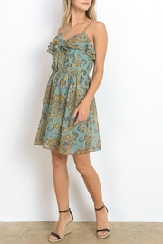 Apricot Lane Double Ruffle Dress - Front full body