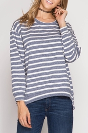 Apricot Lane Earned My Stripes Sweatshirt - Product Mini Image