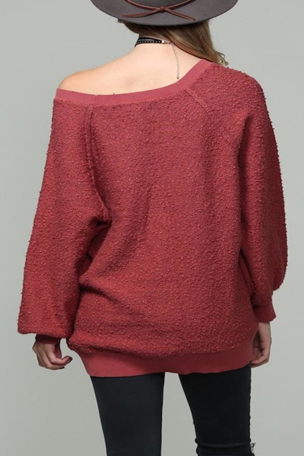 Apricot Lane Fireside Sweater - Side Cropped Image