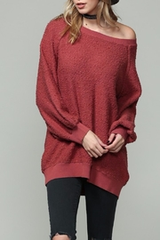 Apricot Lane Fireside Sweater - Front cropped