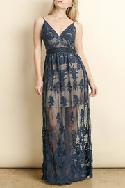 Apricot Lane Floral Lace Maxi - Product Mini Image