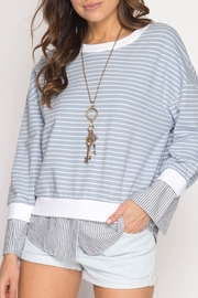 Apricot Lane Get Vertical Sweater - Product Mini Image