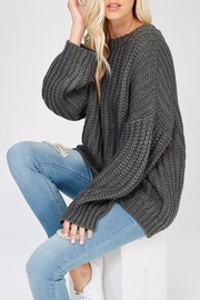 Apricot Lane Glad Tidings Sweater - Front full body