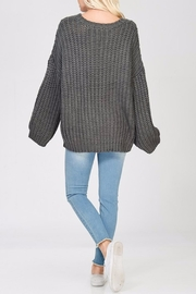 Apricot Lane Glad Tidings Sweater - Side cropped