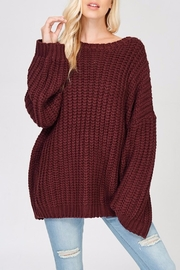 Apricot Lane Glad Tidings Sweater - Front cropped