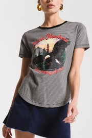 Apricot Lane Go Everywhere Tee-Grey/blk - Product Mini Image