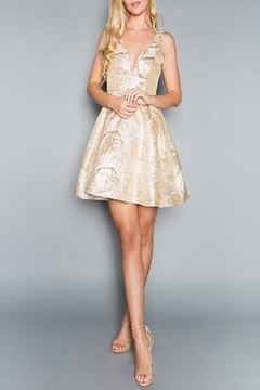Shoptiques Product: Go For Gold Dress