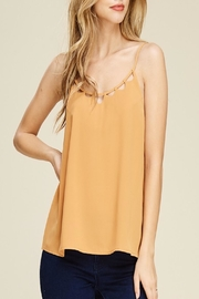 Apricot Lane Golden Honey Top - Front cropped