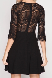 Apricot Lane Grace Lace Dress - Front full body