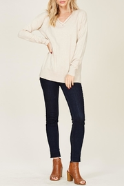 Apricot Lane Harvest Moon Sweater - Front cropped