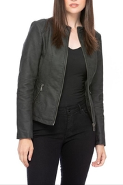 Apricot Lane Highway Jacket-Black - Product Mini Image