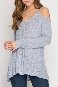 Shoptiques Product: Ice My Blues-Sweater