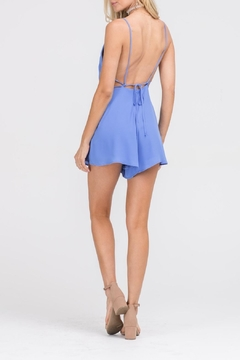 Apricot Lane In & Out Romper-Blue - Alternate List Image