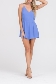 Apricot Lane In & Out Romper-Blue - Product Mini Image