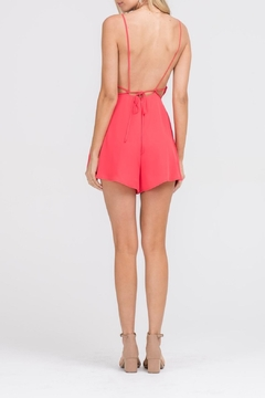 Apricot Lane In & Out Romper-Red - Alternate List Image