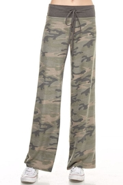 Apricot Lane In The Army Pants - Front cropped