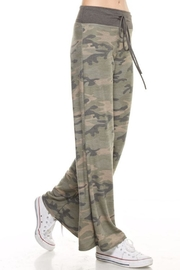 Apricot Lane In The Army Pants - Front full body