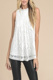 Apricot Lane Ivory Lace Tank - Product Mini Image