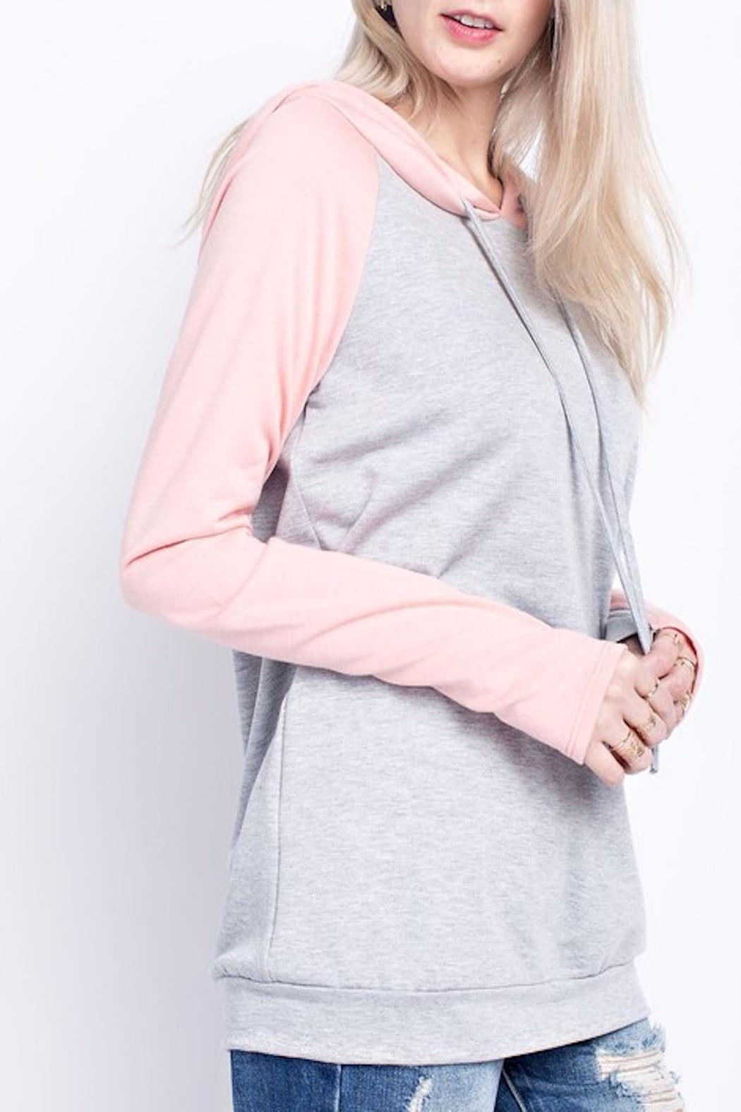 Apricot Lane Just Peachy Sweater - Front Full Image