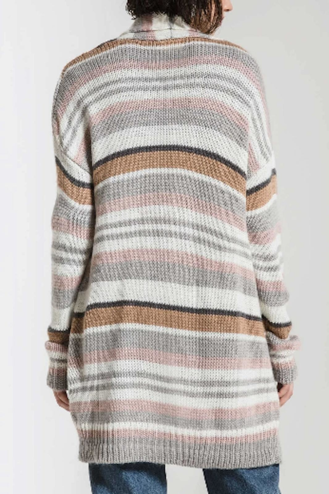 Apricot Lane Karoline Sweater-Grey - Side Cropped Image