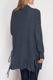 Apricot Lane Lace Up Cardigan - Front full body