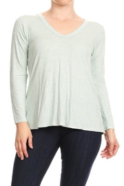 Apricot Lane Long Sleeve Back-Drop - Product Mini Image