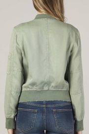 Apricot Lane Macy Lace-Up Bomber - Side cropped