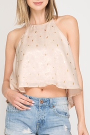 Apricot Lane Maui Crop Top - Product Mini Image