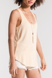 Apricot Lane Micro Stripe Tank - Front full body