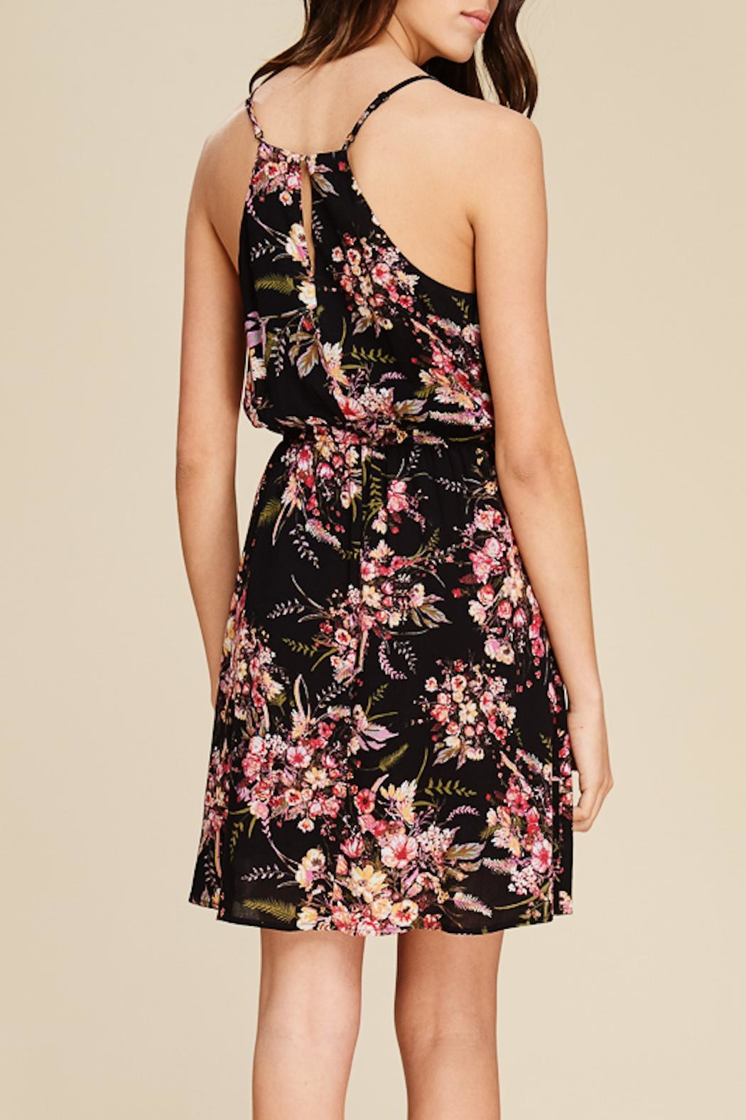 Apricot Lane Midnight Stroll Dress - Side Cropped Image