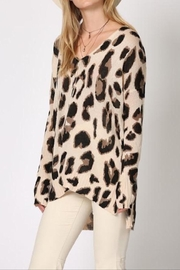 Apricot Lane Miss Lynx Sweater - Front cropped