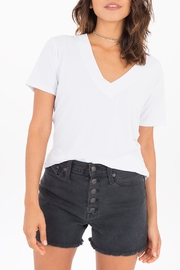Apricot Lane Modal V-Neck Tee - Product Mini Image